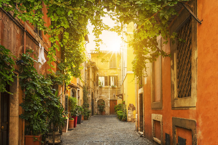 A stroll through the Alleys of Trastevere