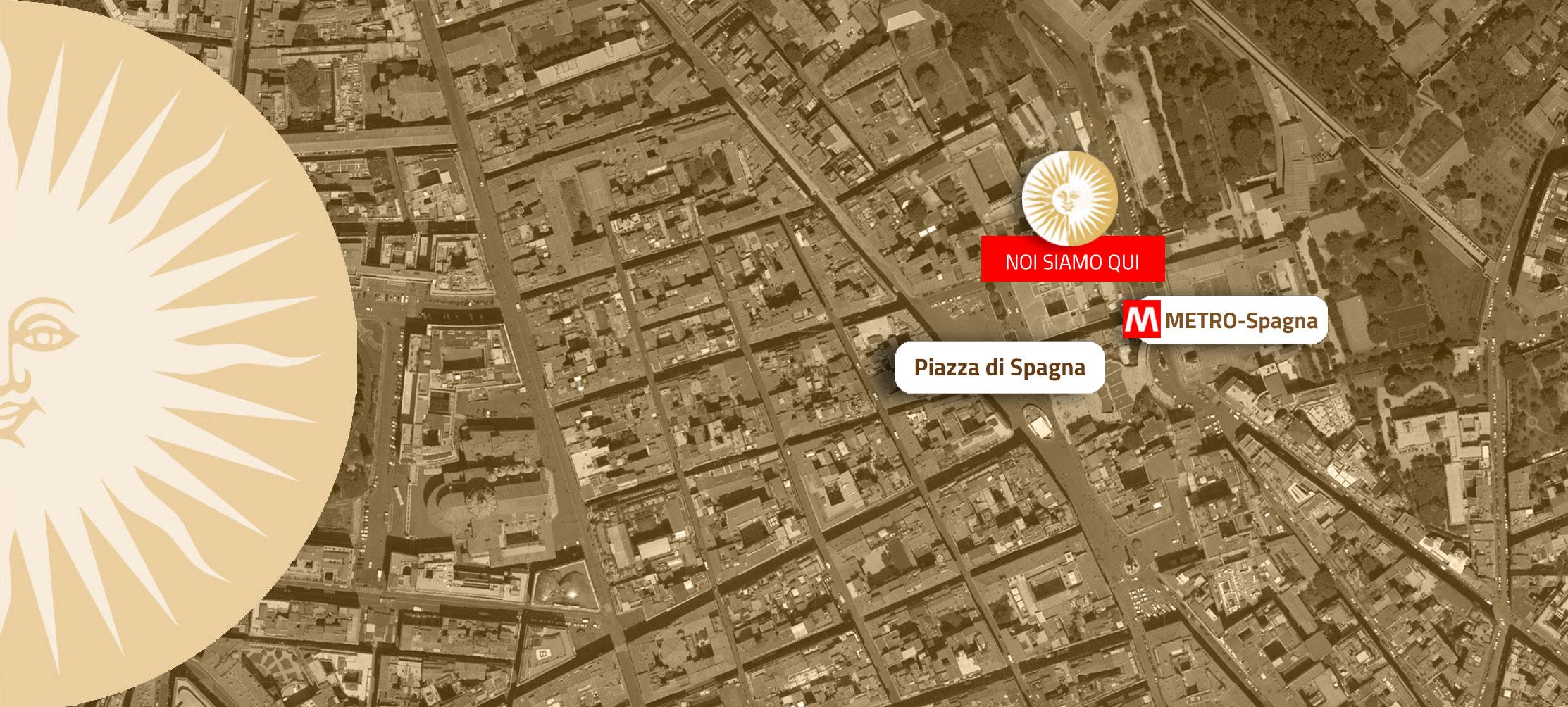 Piazza Di Spagna Cartina.Guest House My Suites Piazza Di Spagna Guest House In Rome